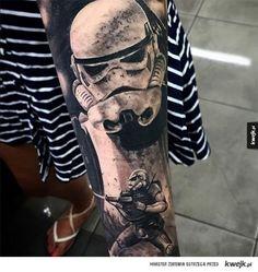 Tatuaże dla prawdziwych fanów Gwiezdnych Wojen - Nigdy nie lekceważ potęgi tatuażysty, Gwiezdne Wojny, Star Wars, Luke Skywalker, Leia, Vader