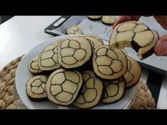İki Renkli Şirin mi Şirin Kurabiye Tarifi - YouTube Donut Recipes, Food Presentation, Biscotti, Donuts, Food And Drink, Tart, Yummy Food, Cookies, Make It Yourself