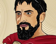 """Check out new work on my @Behance portfolio: """"King Leonidas Digial Art."""" http://be.net/gallery/61658619/King-Leonidas-Digial-Art"""