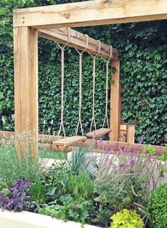 The pergola kits are the easiest and quickest way to build a garden pergola. There are lots of do it yourself pergola kits available to you so that anyone could easily put them together to construct a new structure at their backyard. Small Backyard Landscaping, Backyard Pergola, Backyard Ideas, Outdoor Pergola, Landscaping Ideas, Modern Pergola, Pergola Shade, Pergola Carport, Pergola Swing