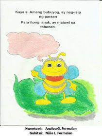 Teacher Fun Files: Maikling Kwento: Ang Batang Bubuyog Short Stories For Kids, Kids Stories, Visual Aids, Tagalog, Reading Passages, Picture Cards, Kindergarten Teachers, Best Teacher, Grade 2