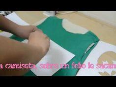 DIY// Manualidades como hacer una camiseta estampada personalizada casera