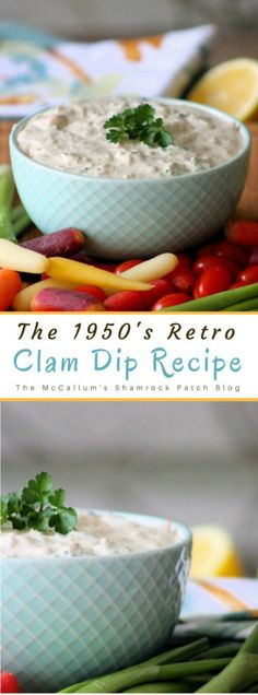 This simple recipe for Clam Dip was once a popular dip served with either salty Ruffle chips or veggies at some of the swankiest parties you can think of from the up till it managed to die off sometime during the Great Appetizers, Easy Appetizer Recipes, Appetizer Dips, Dip Recipes, Snack Recipes, Snacks, Retro Recipes, Vintage Recipes, Asian Recipes