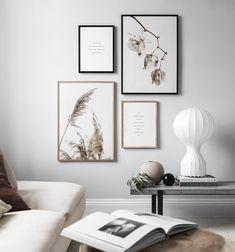 Inspiration till tavelväggar och tavelkollage   Hänga tavlor