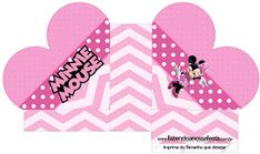 Pretty Minnie in Pink: Free Printable Boxes. Pink Parties, Mouse Parties, Printable Box, Free Printables, Oh My Fiesta, Mini Mouse, Minnie Mouse Party, Blogger Templates, Silhouette Projects