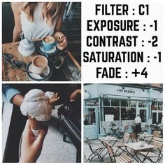 """423 likerklikk, 9 kommentarer – vsco filters (@filterpacks) på Instagram: """"this is an amazing FREE filter!! I know I literally just used this filter but this is a totally…"""""""