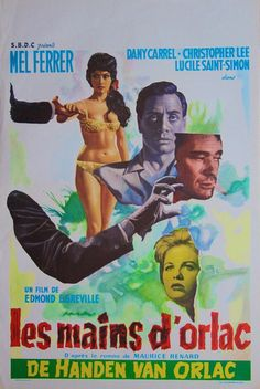 The Hands of Orlac [1960]. Belgian.