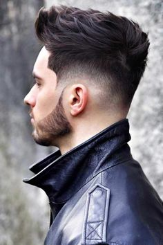 hair and beard styles Rocking a drop fade haircut means never leave the spotlight. Dive in to learn how to get and style the new trend in mens fashion! Mens Hairstyles With Beard, Cool Hairstyles For Men, Hair And Beard Styles, Hairstyles Haircuts, Haircuts For Men, Best Beard Styles, Short Hair Cuts, Short Hair Styles, Fade Haircut Styles