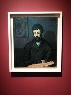 Retrato - Obra de Picasso (Foto: Matheus Pinheiro de Oliveira e Silva)