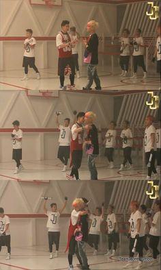 [TeamJBJr] JJ Project MV 'Bounce' behind the scenes photos. || credit http://teamjbjr.tumblr.com #TeamJBJr #JJProject #Bounce #JB #Jr.