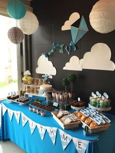 KITE Party Baby Shower Party Ideas | Photo 1 of 20 | Catch My Party