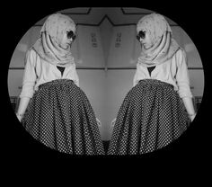 B&W #me #blackandwhite #instadaily #cute #younger #hijab #likeforlike