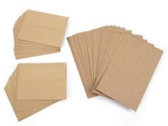 blank cards with envelopes 100