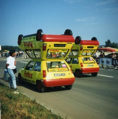 """ Renault 5 Pattex Tour de France  http://cyclingmodel.over-blog.com "" (Pin by: https://www.pinterest.com/pin/479774166531716284/ )"