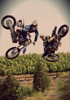 Motocross tricksters. :)
