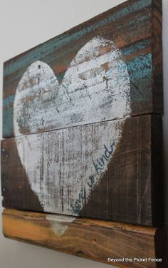 Beyond The Picket Fence: Love Is Kind Just was talking about doing that today!