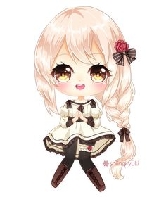 My part of an art trade with !!! She is her OC, Yuu and she is so cuute I have fun drawing her! Here is her part: Thank you for doing an AT with me! Also, I open commission for a chibi like t...