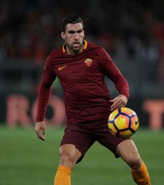 Kevin Strootman of AS Roma in action during the Serie A match between AS Roma and AC Cesena on February 1, 2017 in Rome, Italy.