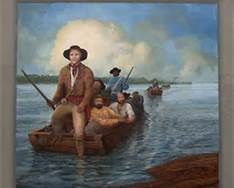 George Rogers Clark expedition to end Shawnee attacks in the Kentucky wilderness