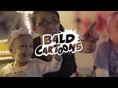 Bald Cartoons - Cartoons go bald to show children with cancer that they are not alone.