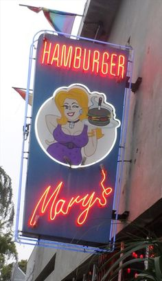 Hamburger Mary's - West Hollywood, CA (there used to be a Hamburger Mary's in Portland too).