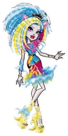 Silvi Timberwolf. Electrified. Hair Raising Ghouls. NEW Profile art