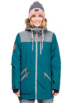 3747c8bef77 Horsefeathers Tara - Veste de snowboard pour Femme - Bleu