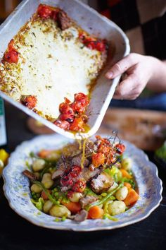 Spring Lamb & Vegetables | Lamb Recipes | Jamie Oliver Recipes