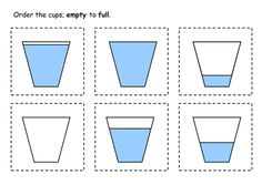 math worksheet : 1000 ideas about capacity activities on pinterest  measurement  : Kindergarten Capacity Worksheets