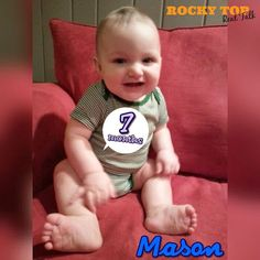 Rocky Top Real Talk: Baby Mason: Seven Months