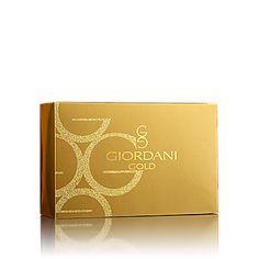 Dárková krabička Giordani Gold www.oriflame-registrace.cz