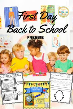 The first day of school is around the corner and if you live in the southern part of the US, it may be sometime next week. Your summer is over and maybe you are feeling a bit stressed. Well if this sounds like you, then this FREE resource will be your go to...pretty much the whole first day is planned out..so click on this pin and it will zoom you over to may blog and some great ideas for the first day and this resource!!