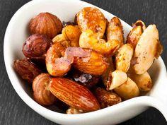 Hunajaiset maustepähkinät