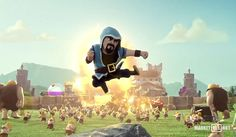 Clash of Clans He's The Wizard Commercial
