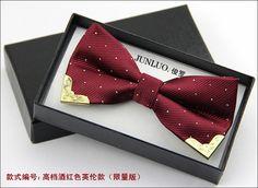 20 цветов Британский стиль мужская Двойной Металл Галстук Бабочку для свадьба Кармана Полотенце Точка напечатаны Высокое качество красивый галстуки бабочки оптовая купить на AliExpress