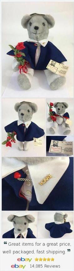 """Special custom #teddybear gift to thank you special #Nurse! One of a kind """"occupational"""" designs, artist tagged, 17"""". Perfect way to show how much you appreciate your nurse or #caregiver!"""