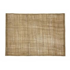 Natural linnen placemat in light brown from Dixie