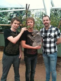 Muse and a koala: 2 of my favorite things