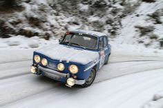 Gordini was a racing and tuning legend who spent years modifying Renaults. In he turned the little Renault 8 into a capable sports car. Vintage Motorcycles, Cars And Motorcycles, Sport Cars, Race Cars, Renault Sport, Monte Carlo Rally, Rally Car, Winter Sports, Ford Mustang