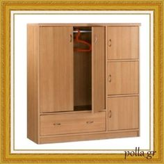 Bedroom-Wardrobe-Storage-Closet-Clothes-Cabinet-Home-Furniture-Wood-New Girls Bedroom Furniture Sets, Clothes Cabinet, Boy Girl Bedroom, Locker Storage, Wardrobe Storage, Bedroom Wardrobe, Wood Furniture, Armoire, Boy Or Girl