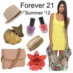 @Forever 2121 Summer 2012 created  on Fashion.me