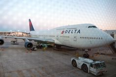 Delta operated the last scheduled passenger flight of the Boeing 747 for a US carrier on Tuesday.