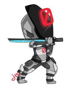 Zer0 the Chibi Assassin by xNekorux