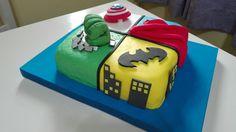 Torta superheroes