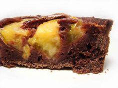 Tarta de Chocolate Brownie y Frutas