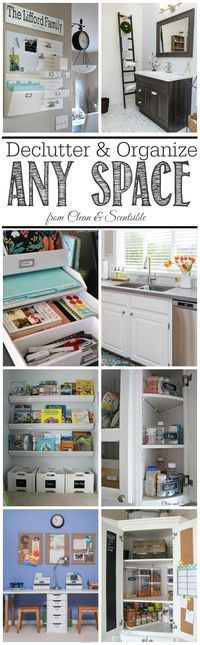 How to Declutter and Organize Any Space