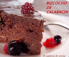 El cuaderno de recetas: Bizcocho Integral de Calabacín {Sin Azúcar}