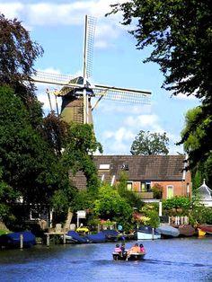 Loenen aan de Vecht the Netherlands Utrecht, Villas, I Amsterdam, Back Road, City Landscape, Water Tower, Famous Places, Le Moulin, Belgium