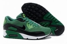 Nike Air Max 90 verde / negro / blanco http://www.esnikerun.com/