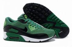 Nike Air Max 90 Correr oscuro / verde / negro http://www.esnikerun.com/